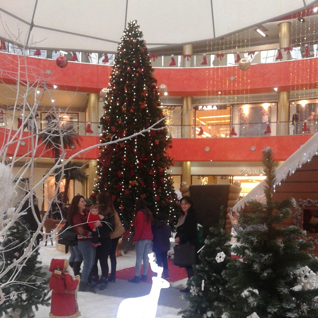 Christmas tree at Tbilisi Mall